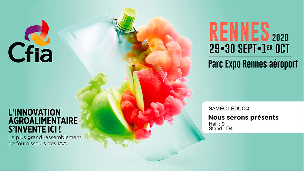La société Leducq au CFIA 2020 de Rennes